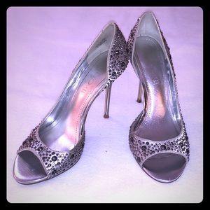 Aldo Evening Shoes Silver size 8